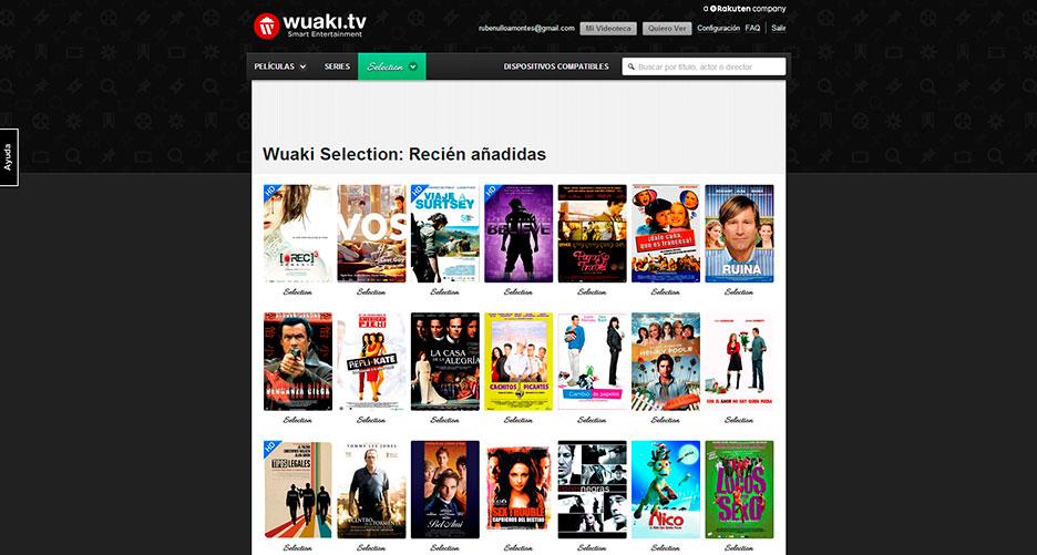 Wuaki.tv para navegadores web