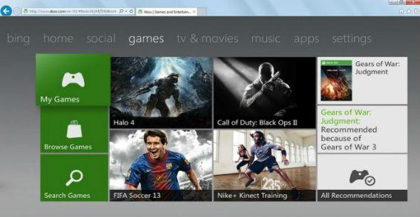dashboard-xbox-navegador-microsoft