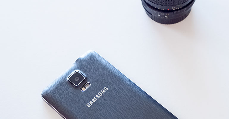Samsung Galaxy Note 4 Cámara