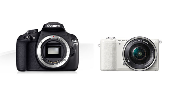 Tamaño cámaras mirrorless