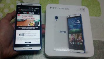 HTC Desire 820 principal