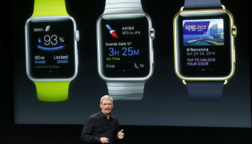 Apple Watch presentación de Tim Cook