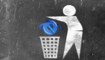 Internet Explorer desaparece