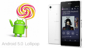 Xperia Z2_Android_Lollipop
