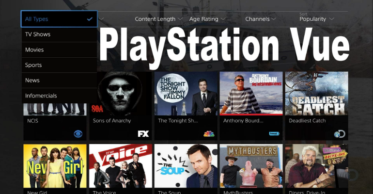 playstation vue on facebook