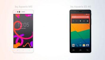 bq Aquaris M5 vs bq Aquaris E5 4G