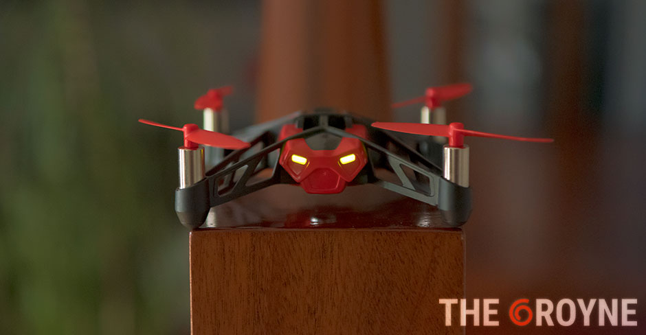 Parrot MINIDRONE Rolling Spider análisis