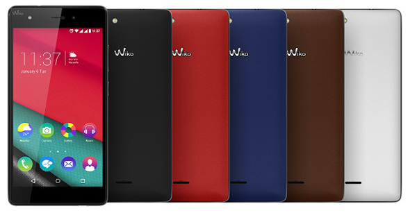 Wiko Pulp 4G diseño
