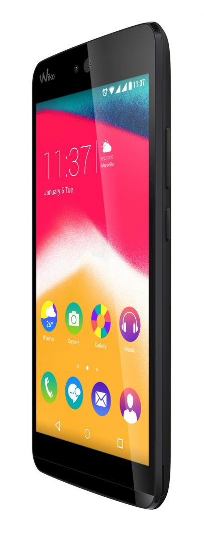 Wiko RAINBOW JAM lateral