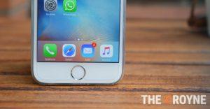 iPhone 6s Pantalla 3d Touch the groyne