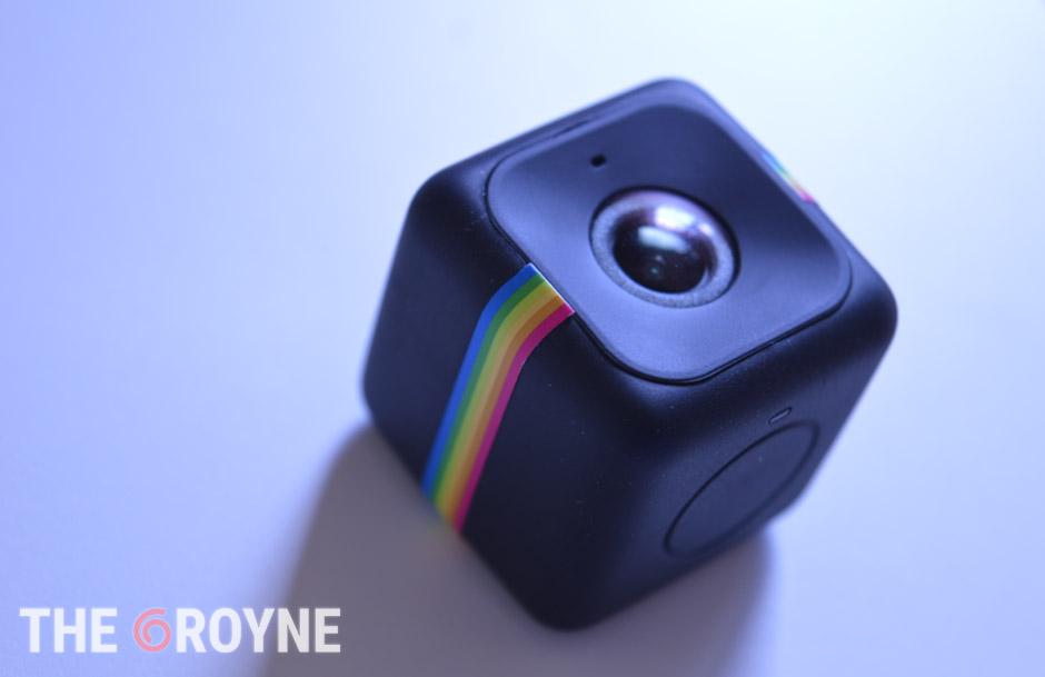 Polaroid Cube lente