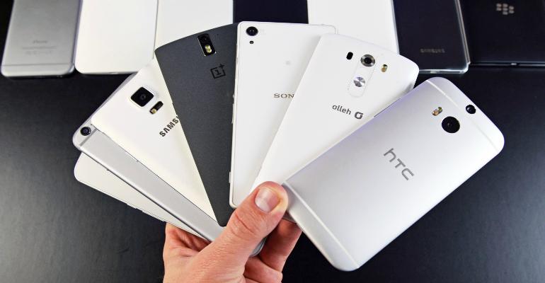 Smartphones gamas destacada
