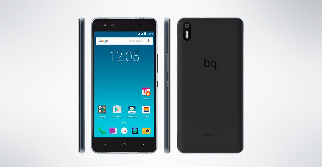 bq Aquaris X5 Cyanogen precio y características