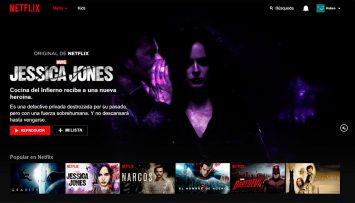 Netflix versión web