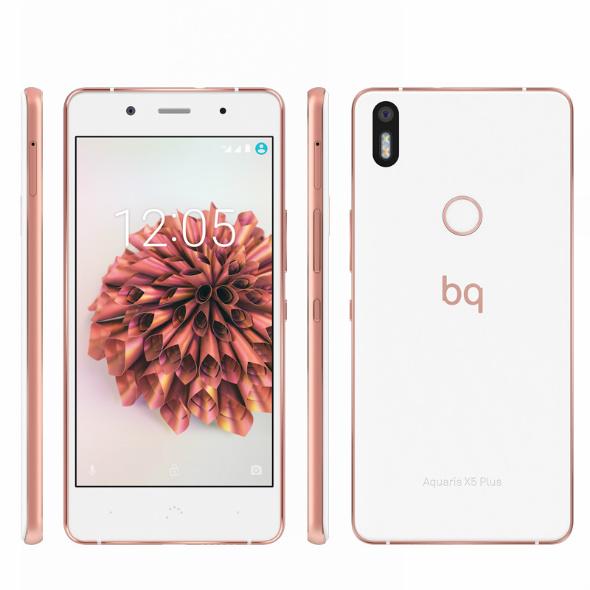 bq Aquaris X5 Plus Oro rosa 01