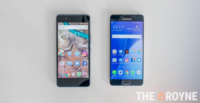 bq Aquaris X5 Plus vs Samsung Galaxy A5 2016