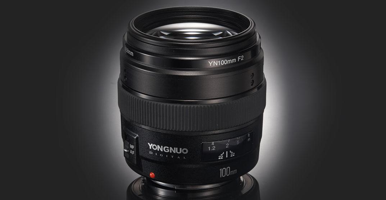 Yongnuo 100 mm f/2 para Nikon