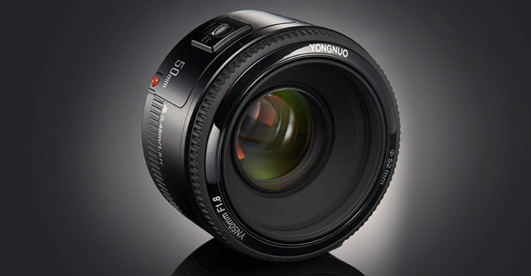 Yongnuo 50 mm f/1.8 Canon