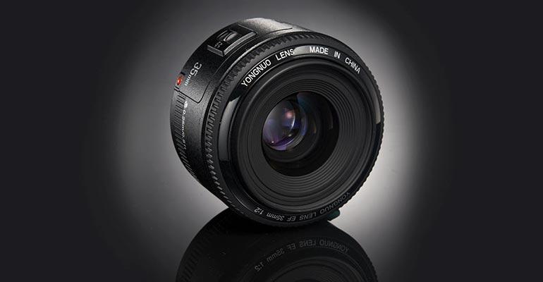 Yongnuo 35 mm f/2 para Canon