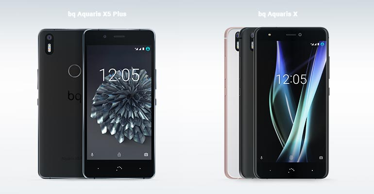 bq Aquaris X vs bq Aquaris X5 Plus