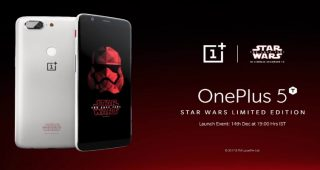 OnePlus 5T edición Star Wars
