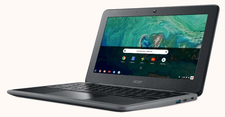 Acer Chromebook Spin 11 anuncio